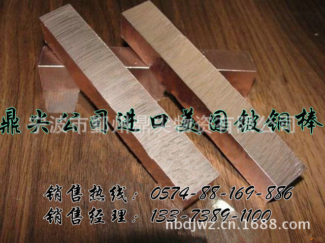 进口铍铜热处理 进口高铍铜c17300 进口铍铜合金